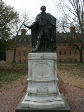 Lord Botetourt statue