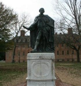 statue of Lord Botetourt