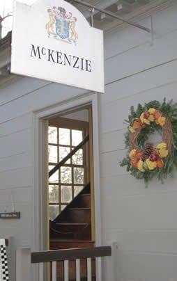 McKenzie sign