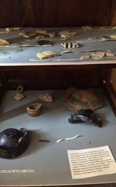 Richneck room historic artifacts