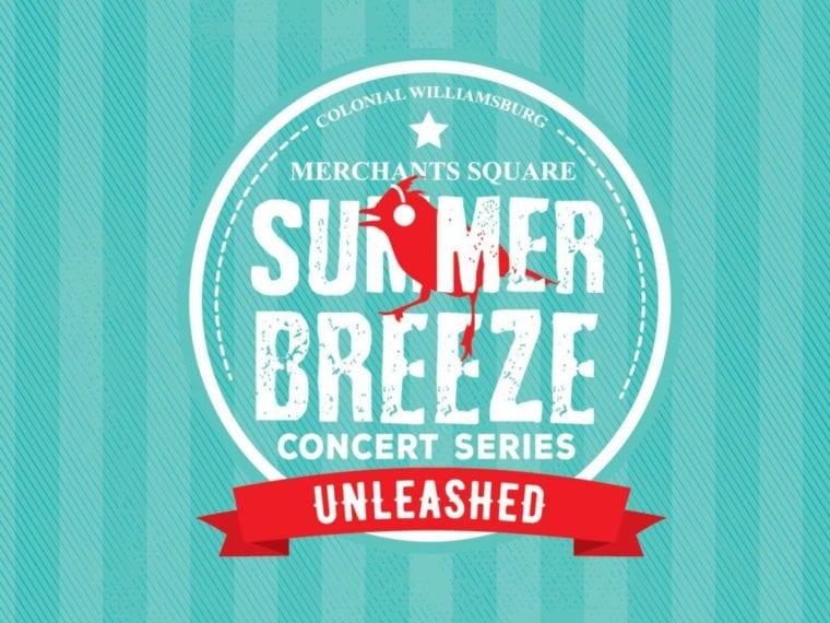 Merchants Square Summer Breeze concert series logo
