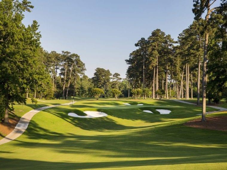 Golden horseshoe golf course in Williamsburg